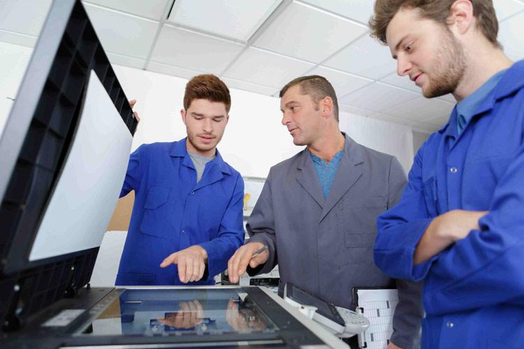 formation utilisation machine