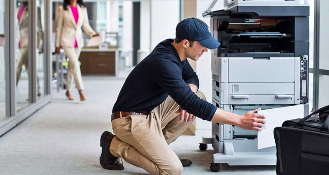 installation photocopieur