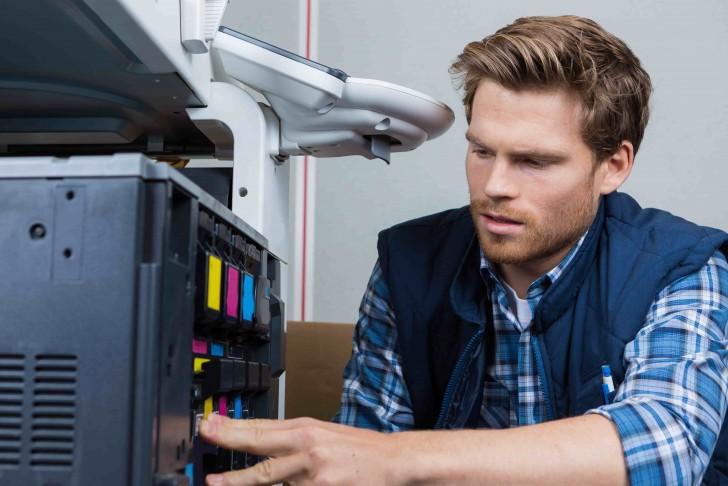Intervention reparation photocopieur