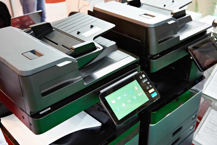 photocopieur remis en service