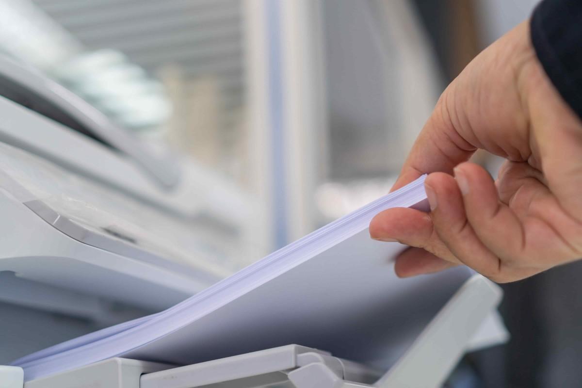 recyclage papier imprimante