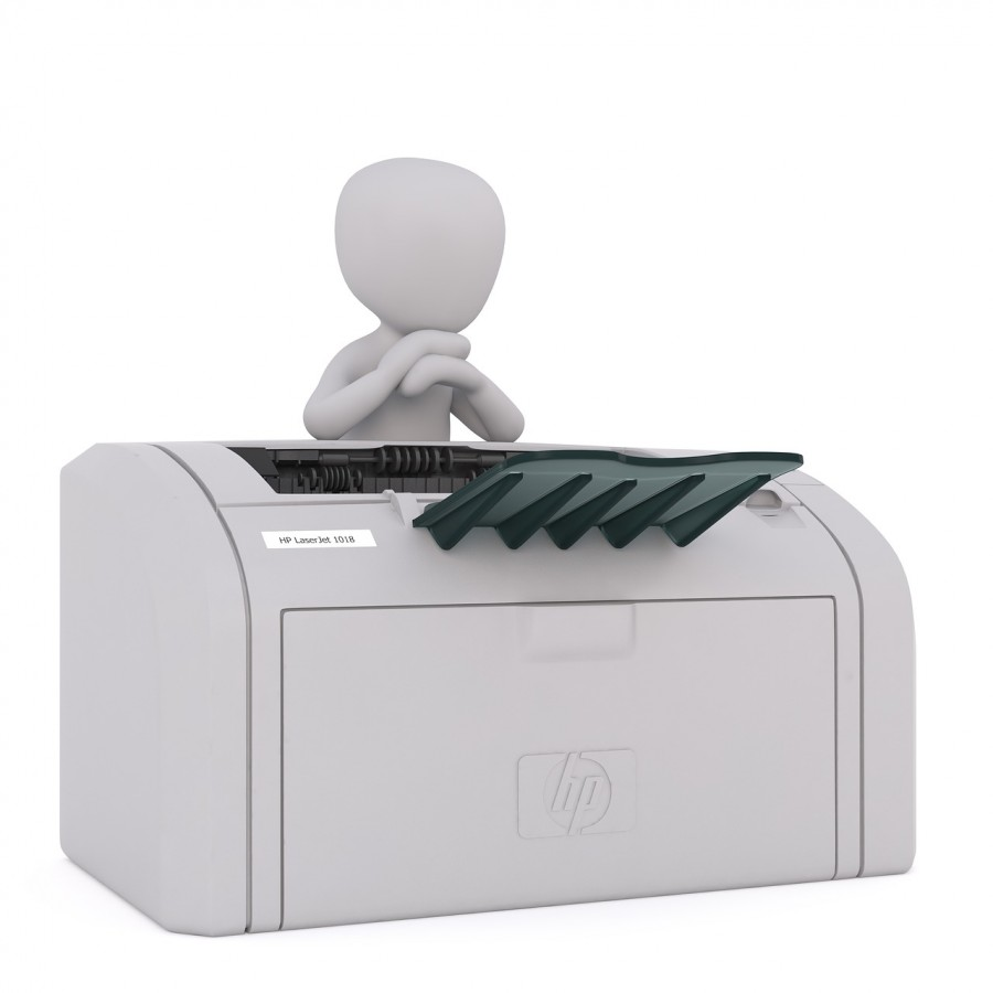 L'imprimante Hewlett-Packard