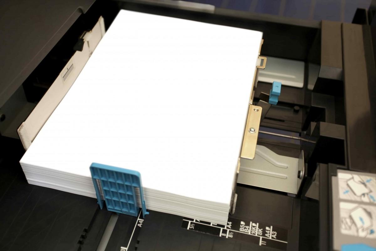 La consommation en papier de la reprographie